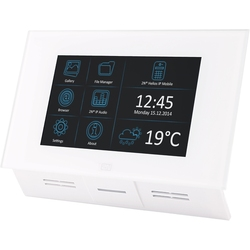 2N Indoor Touch white - IP-видеопанель, Android 4.2, SIP 2.0, RJ45, PoE