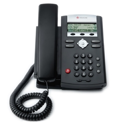 Polycom SoundPoint IP 321 - IP телефон, 2 SIP аккаунта, 1 порт Ethernet 10/100