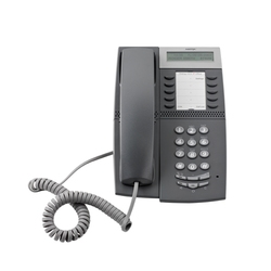 Mitel MiVoice 4422 - IP-телефон, 2 порта Ethernet, QoS, дисплей, PoE
