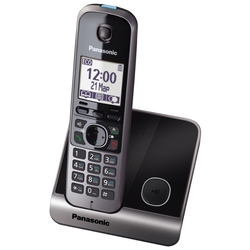 Panasonic KX-TG6711RUB - Беспроводной телефон DECT,  АОН, Caller ID