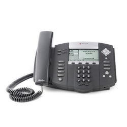 Polycom SoundPoint IP 550 - IP-телефон, 4 линии, Polycom HD Voice, PoE, XHTML