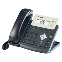 Yealink SIP-T21P - SIP-телефон (IPmatika), 2 VoIP аккаунта, HD Audio, PoE, 2 порта 10/100 Ethernet